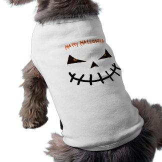 Camiseta Animal de estimação feliz do Dia das Bruxas