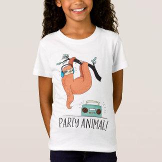 Camiseta Animal de partido da preguiça
