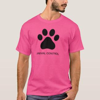 Camiseta animal do controle