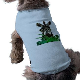Camiseta Animal do estilo da zebra do hipster