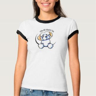 Camiseta Animal malhado branco Havanese IAAM