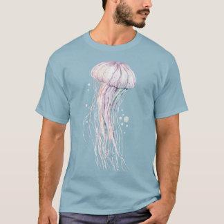 Camiseta Animal: Medusa desenho e mar