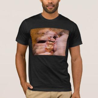 Camiseta Animal - porco - comida do conforto