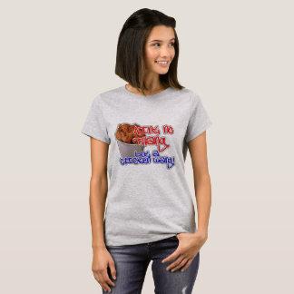 Camiseta Anit NoThang mas uma galinha Wang