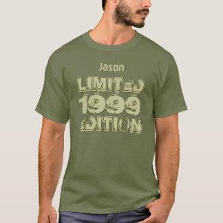 Camiseta Aniversário 1999 do Ltd Ed 16o ou alguma fadiga