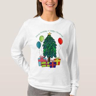 Camiseta Aniversário alegre, Natal feliz!