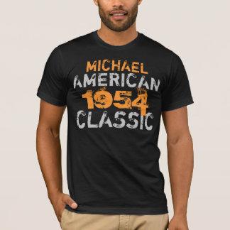 Camiseta Aniversário clássico americano personalizado