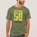 Camiseta Aniversário da guerra do vietname 50th