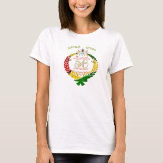 Camiseta Aniversário da independência de Guianês 50th
