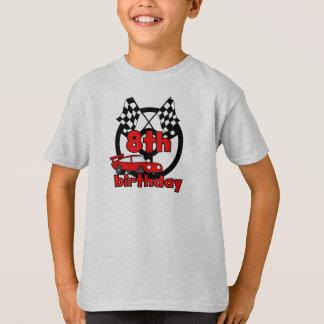 Camiseta Aniversário das corridas de carros 8o
