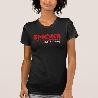 Camiseta Aniversário das senhoras do fumo 10o