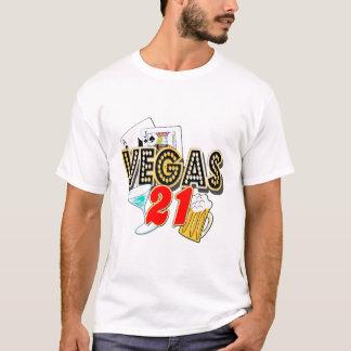 Camiseta Aniversário de 21 anos de Vegas