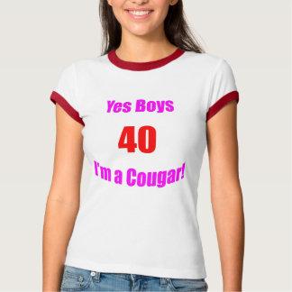 Camiseta Aniversário de 40 pumas
