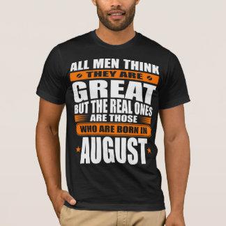 Camiseta Aniversário de agosto