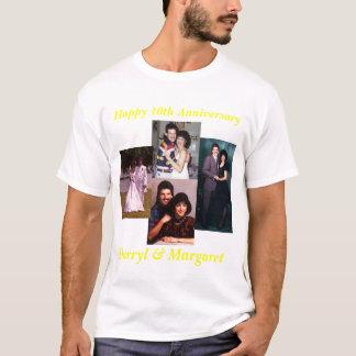 Camiseta Aniversário de casamento de 10 anos