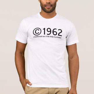 Camiseta Aniversário de Copyright 1962