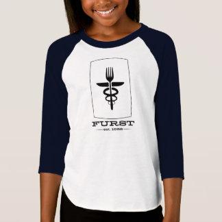 Camiseta Aniversário de Furst 50th - esboço dos miúdos