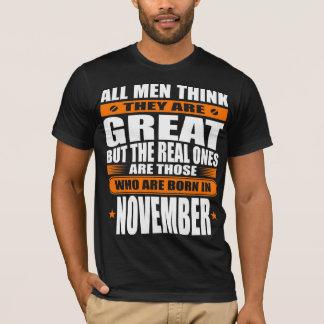 Camiseta Aniversário de novembro