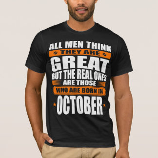 Camiseta Aniversário de outubro