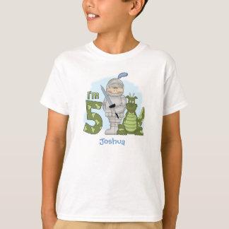 Camiseta Aniversário do cavaleiro do dragão 5o