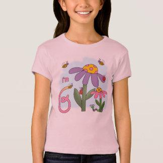 Camiseta Aniversário do jardim parvo 6o