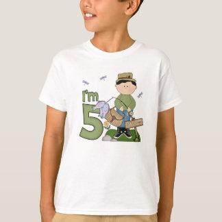 Camiseta Aniversário do pescador de Lil 5o