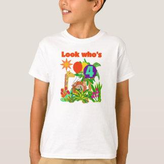 Camiseta Aniversário do safari 4o