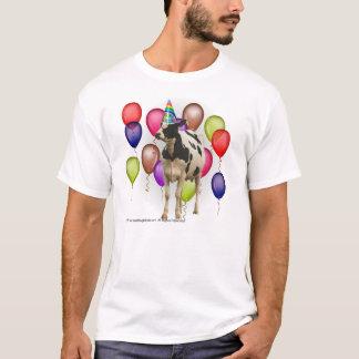 Camiseta Aniversário do tema da vaca