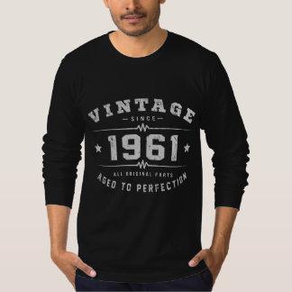 Camiseta Aniversário do vintage 1961