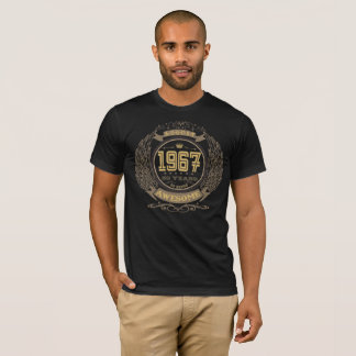 Camiseta Aniversário em agosto de 1967