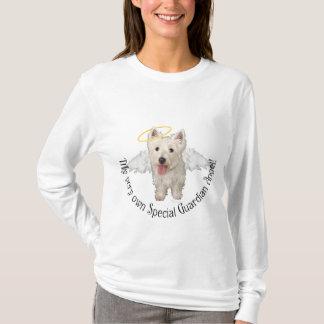 Camiseta Anjo-da-guarda de Westie