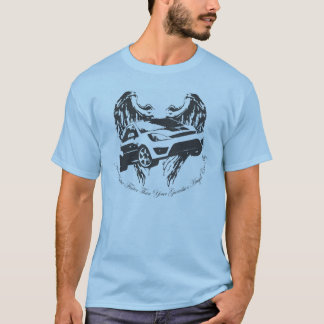 Camiseta Anjo-da-guarda do carro