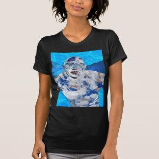 Camiseta Anjo da natação