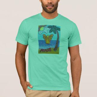 Camiseta Anjo da praia de Califórnia