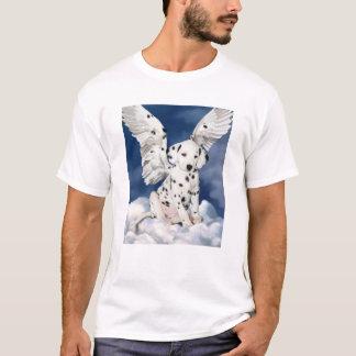 Camiseta Anjo Dalmatian do filhote de cachorro