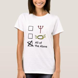 Camiseta Anjo diabólico