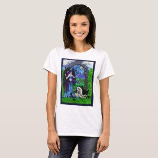 Camiseta Anjo e unicórnio