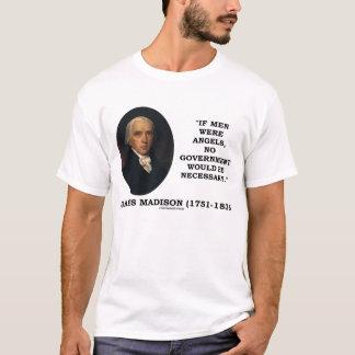Camiseta Anjos dos homens de James Madison nenhum governo