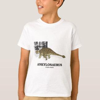 Camiseta Ankylosaurus (dinossauro fundido do lagarto)