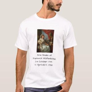 Camiseta Anna Amalia de Brunsvique-Wolfenbuttel 1788