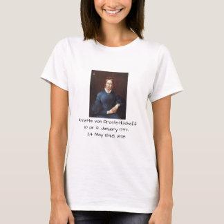 Camiseta Annette von Droste-Hulshoff 1838
