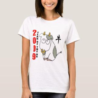 Camiseta Ano bonito do t-shirt do boi