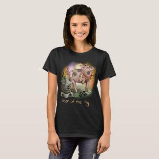 Camiseta Ano chinês do zodíaco do porco