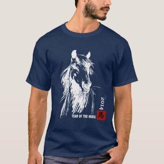 Camiseta Ano chinês dos t-shirt do cavalo