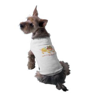 Camiseta Ano de Jitaku da camisa do animal de estimação do