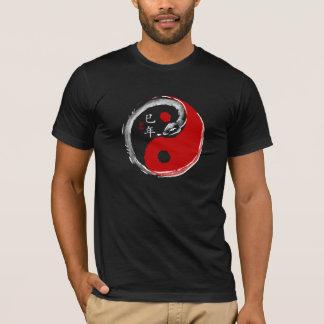 Camiseta Ano de t-shirt da obscuridade do cobra