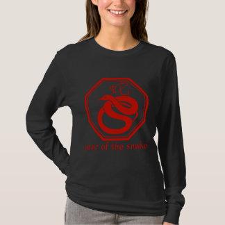 Camiseta Ano gráfico simples do cobra
