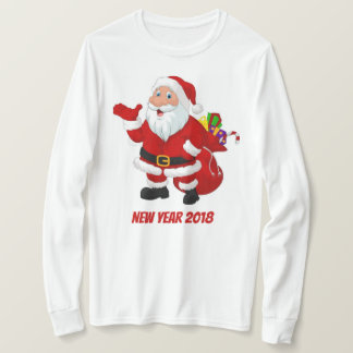 Camiseta Ano novo do Hoodie
