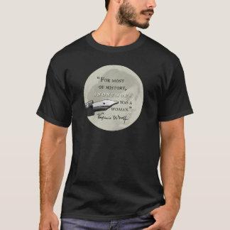 Camiseta Anónimo era um circl das citações de Virgínia