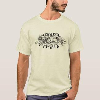 Camiseta anormal de controle